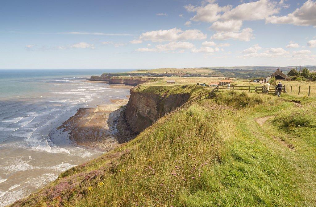 Boulby cliff edge