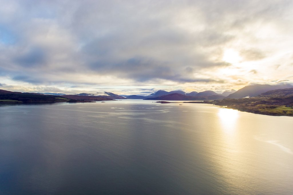Sound of Raasay from Inver Tote