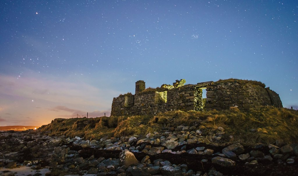 Berneray ruin
