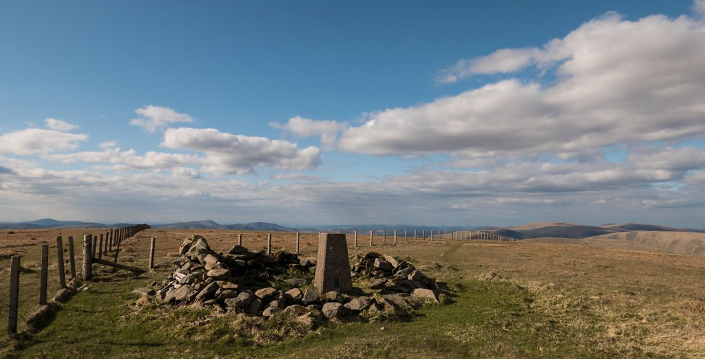 Hart Fell summit